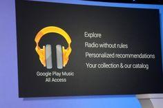 Google anuncia serviço de streaming de músicas