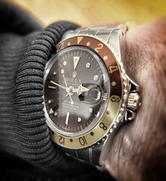 Rolex GMT-Master- I can see my brother Josh wearing this!