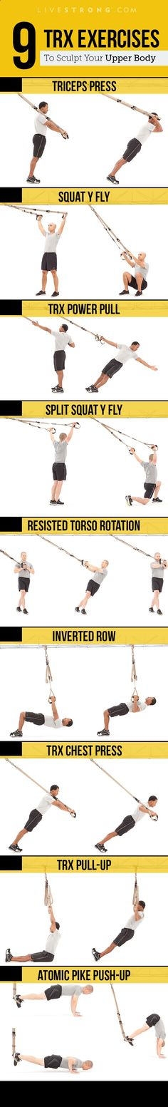 Total body exercises will turn on fat burning with this TRX workout.