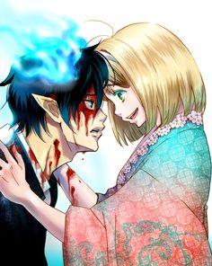Rin y Shiemi
