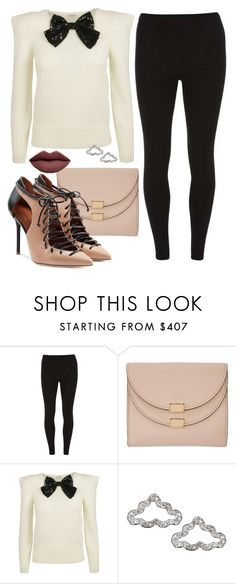 """""""Swerve"""" by chelsofly ❤ liked on Polyvore featuring Dorothy Perkins, Chloé and Malone Souliers"""