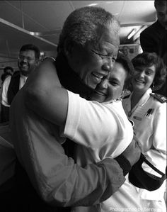 Nelson Mandela, un grand homme.