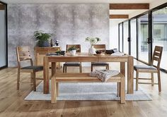 Design a home you're truly proud of with the Portland Dining Bench. Shop Furniture Village selection now and find amazing prices. Oak Extending Dining Table, Extendable Dining Table, Dining Table Chairs, Dining Room, Furniture Village, Timber Furniture, Table Seating, Seat Pads, Modern Retro