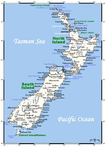 Geography of New Zealand - Wikipedia, the free encyclopedia