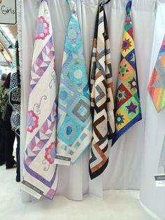 Designed by heidi Pridemore 2014 all four designed for Michael Miller Fabrics