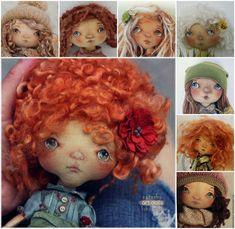 Купить Мастер класс тыквоголовка Билеты в ваше детство Кондратюк Наташа - текстильная кукла, тыквоголовка