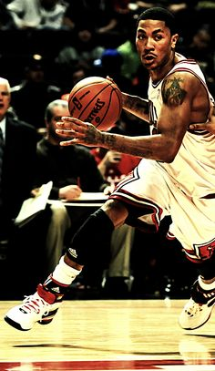 D Rose back when he was fearless and throwing jams left and right. Now he's mature and smartly saving his legs for a career ahead.