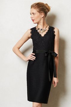Byzantine Laced Sheath #anthropologie. Can someone deliver this to my door right now please? Thanks