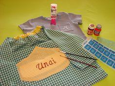 Cómo poner el nombre en la ropa de los niños: Manualidades