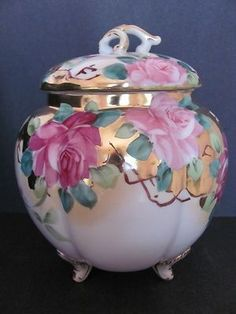 nippon bisquit jar - Google Search
