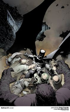 batman 01 COVER by ~fco on deviantART