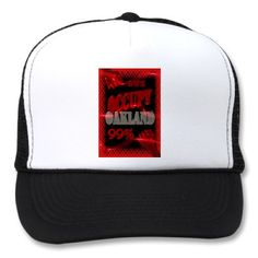 Occupy Oakland OWS protest hat for   $14.95 by valxart