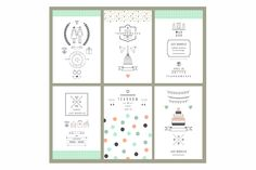 18 templates of invitations on Behance
