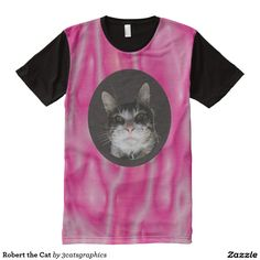 Robert the Cat All-Over Print T-shirt