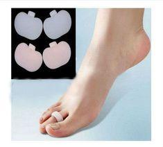 1Pair Claw Hammer Toe Gel Pads Separators Stretchers Straighteners Alignment(BICP046790)