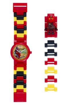 LEGO 'Ninjago - Kai' Character Watch & Figurine (Kids)