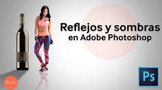 Reflejos y sombras en Photoshop   HD   Tutorial en Español