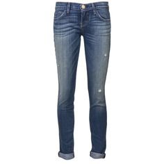 Current/Elliott Rolled Jean ($238) ❤ liked on Polyvore