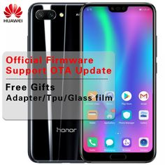 Stock Huawei Honor 10 AI Smartphone Glass Body 5.84 inch Kirin 970 Octa Core 2.36GHz Full View Screen 3 Cameras 24.0MP NFC  Price: $ 376.99 & FREE Shipping   #computers #shopping #electronics #home #garden #LED #mobiles Optical Image, Face Id, Noise Reduction, Glass Film, Dual Sim, Core, Smartphone, Mobile Phones, Messages