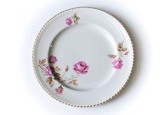 Rose & Thorn Rose Thorns, Decorative Plates, Tableware, Vintage, Home Decor, Dinnerware, Decoration Home, Room Decor, Tablewares