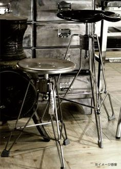 Dulton Clipper Bar Stool   Designed By Japanese Designer Yasuaki Sasamoto,  The Smaller Version Became