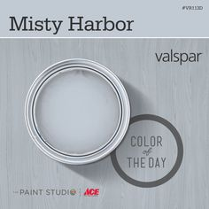Color of the Day: Misty Harbor by #Valspar #31DaysOfColor #paint #inspiration #thepaintstudio