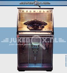 ROCK-OLA 1454 1956 hxwxd: 144x78x71 cm selections: 50 rpm: 45