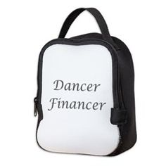 Neoprene Lunch Bag  gt  Dancer Financer  gt  Dance Dad Shop  www.DanceDadShop. 7665578ef8591
