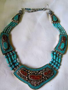 Tibetan Silver Necklace