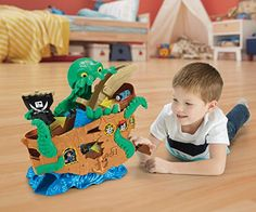 Thomas-and-Friends-Adventures-Sea-Monster-Pirate-Set-Multi-Color