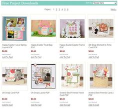 Free Project Downloads- these are some great ideas... And they're FREE!