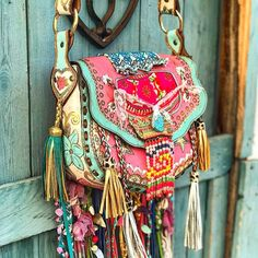 Must have boho bag! Isn't this a true dream bag?