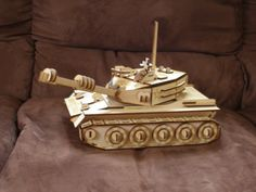 3D Wood Tank Puzzle Kit Engraved Laser Cut by MLSLaserEngraving, $36.99 #(Excerpt)