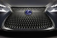 Lexus LF-FC Concept grille