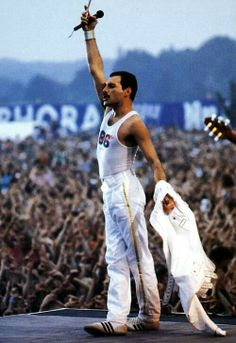I'd have Queen playing live at all times. :P