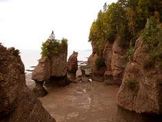 Hopewell Rocks, New Brunswick, Canada.