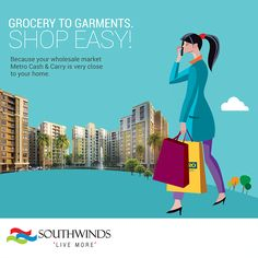  #Southwinds is a home closer to your favorite places! #ConnectingYouToLife #LiveMore #Kolkata Visit: http://www.southwinds.in/location-map.html