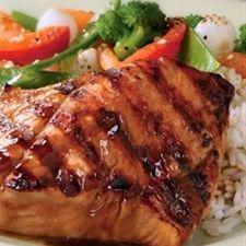 Easy Grilled Teriyaki Salmon