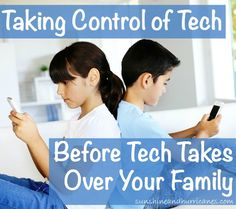 Do you feel like technology is a constant battle in your household? We can help with this post on Taking Control of Technology Before It Takes Over Your Family. There is even a great family tech rules printable included.