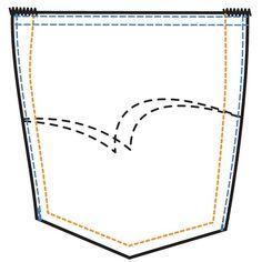 The Lee Cooper Trademark Arcuate Design Pocket #LeeCooper