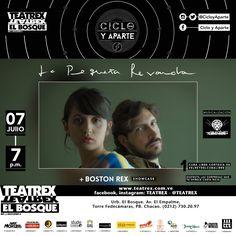 Ciclo y Aparte presenta a Boston Rex y La Pequeña Revancha juntos en Caracas http://crestametalica.com/events/ciclo-aparte-presenta-boston-rex-la-pequena-revancha-juntos-caracas/ vía @crestametalica