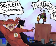 """""""Bruce our babies!"""""""