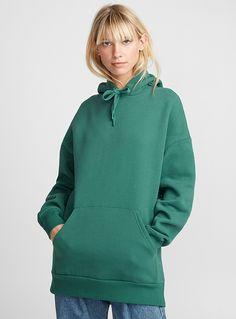 Solid loose hoodie | Twik | Women's Sweatshirts & Hoodies: Shop Online in Canada | Simons Women's Sweatshirts, Hoodies, Juicy Couture, Joggers, Canada, Clothes For Women, Gift, Sweaters, Shopping
