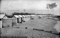 Photo of Bognor Regis, Bathing Huts, Aldwick 1914 Bognor Regis, Beach Huts, Chichester, Bathing, England, Collection, Bath, Swim, Beach Cottages