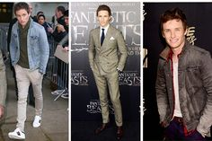 Eddie Redmayne looks so consistently stylish thanks to his commitment to classic pieces. Chinos, simple sneakers, and a denim jacket are the foundations for a great casual outfit, but when he does get red carpet ready, he keeps his cuts slim and simple, mixing things up with pattern and color.