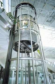 Hydraulic elevator / commercial / panoramic - KLEEMANN