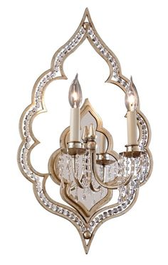 Corbett Lighting Bijoux 2 Light Wall Sconce #CorbettLighting #Traditional