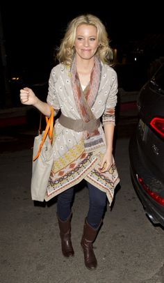 Stunning Elizabeth Banks was seen arriving at the Chateau Marmont Hotel in West Hollywood, CA.