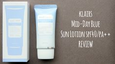 Review of the Klairs Midday Blue Sun Lotion