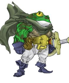 COLORS - Chrono Trigger - Frog. By, dx2.